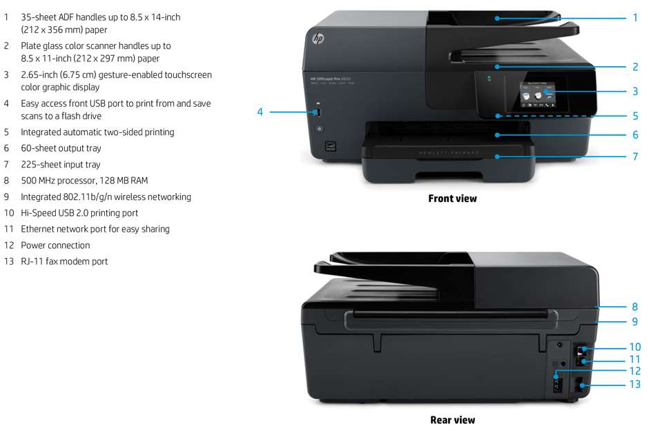 Drivers HP Officejet Pro 6830 e-All-in-One Printer