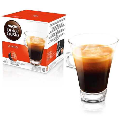 nescafe caffe lungo for dolce gusto machine pack of 48. Black Bedroom Furniture Sets. Home Design Ideas