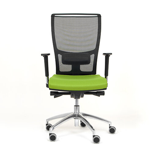 Ergonomic Mesh Task Chair With Lumbar Support Adjustable Arms Black Gre
