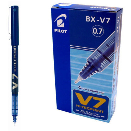 Pilot Hi-Techpoint V7 Pen 0.7mm. Sold in singles