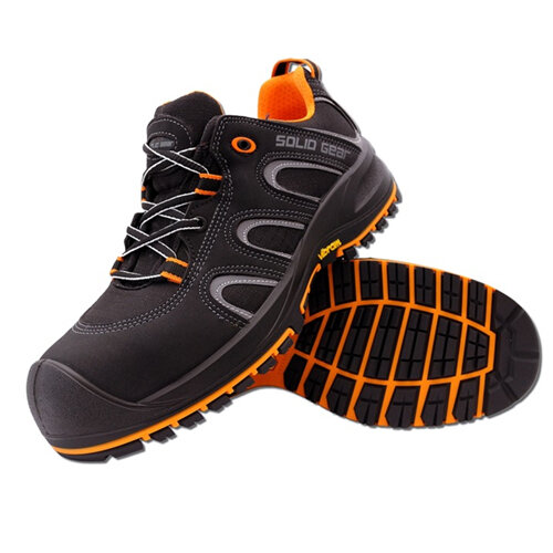 Black//Orange Snickers SG7300145 Griffin S3 Safety Boot 45