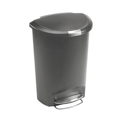 Round Plastic Bin 50l Pedal Operated