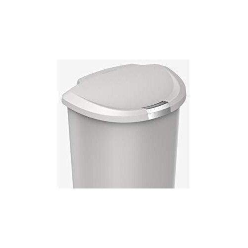Simplehuman Semi Round Plastic Bin 50l