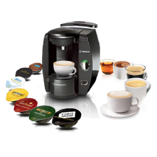 bosch tassimo fidelia t40 hot drinks and coffee machine black. Black Bedroom Furniture Sets. Home Design Ideas