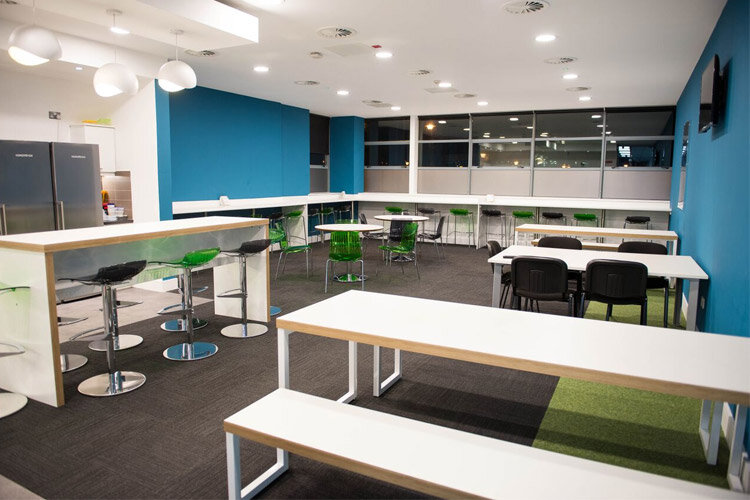 Amazon Canteen Fitout Seating