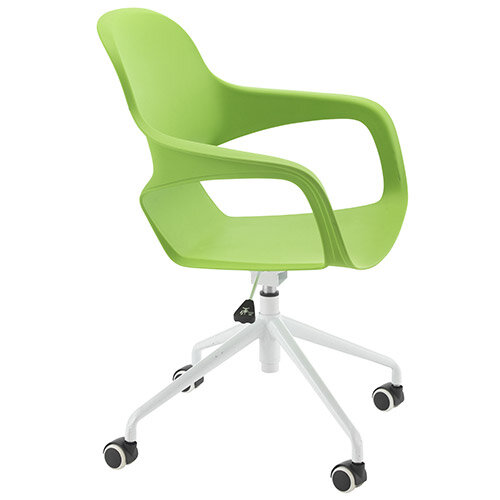 Ariel 2 Modern Design Spider Base Chair Green