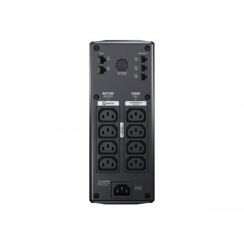 APC Back-UPS Pro 900 - UPS - AC 230 V - 540 Watt - 900 VA - output  connectors: 8 - black