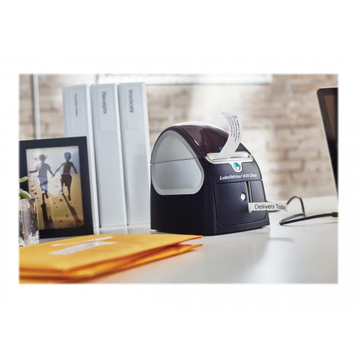 DYMO LabelWriter 450 Duo - Label printer - thermal paper - Roll (6 2 cm) -  600 x 300 dpi - up to 71 labels/min - USB