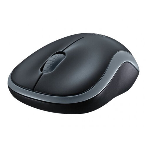 Logitech Wireless Compute Mouse M185 - Swift Grey 2 4 GHz Fast Data  Transmission Comfy, Contoured Shape with On/Off Switch and Smart Sleep Mode