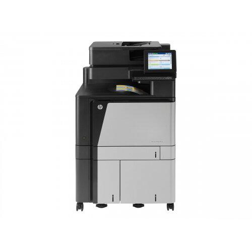 HP LaserJet Enterprise Flow MFP M880z+ - Multifunction printer - colour -  laser - A3 (297 x 420 mm), Ledger (279 x 432 mm) (original) - A3 (media) -