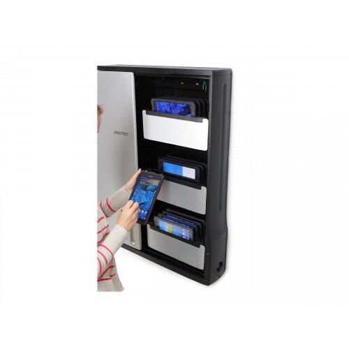 Ergotron Zip12 Easy Charge Kit Shelf For 4 Tablets