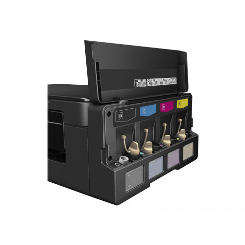 Epson EcoTank ET-2600 - Multifunction printer - colour - ink-jet - A4/Legal  (media) - up to 33 ppm (printing) - 100 sheets - USB, Wi-Fi(n) - black