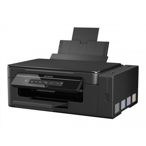 Epson EcoTank ET-2600 - Multifunction printer - colour - ink-jet - A4/Legal  (media) - up to 33 ppm (printing) - 100 sheets - USB, Wi-Fi(n) - black