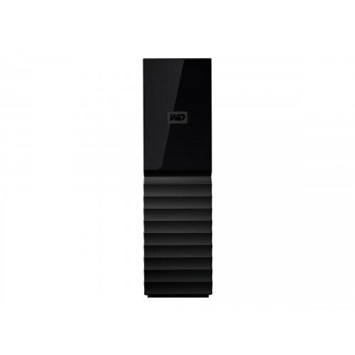 WD My Book WDBBGB0040HBK - Hard drive - encrypted - 4 TB - external  (desktop) - USB 3 0 - 256-bit AES - black