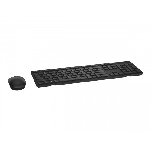 Dell KM636 - Keyboard and mouse set - wireless - UK layout - black - for  Inspiron 34XX, 36XX