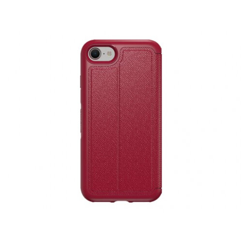 competitive price f6303 eb65e OtterBox Symmetry Series Etui Apple iPhone 7 - Flip cover for mobile phone  - faux leather - cafe racer - for Apple iPhone 7