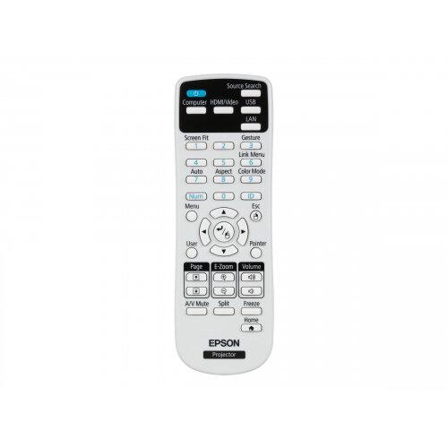 Epson EB-2155W - 3LCD Multimedia Projector - 5000 lumens (white) - 5000  lumens (colour) - WXGA (1280 x 800) - 16:10 - 720p - 802 11n wireless / LAN