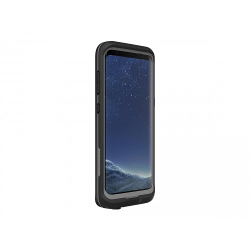 cheap for discount 36307 bc7de LifeProof Fre Samsung GALAXY S8+ - Protective waterproof case for mobile  phone - asphalt black - for Samsung Galaxy S8+