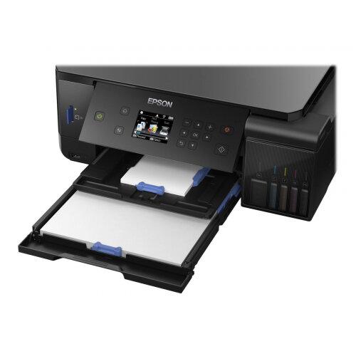 Epson EcoTank ET-7700 - Multifunction printer - colour - ink-jet - A4/Legal  (media) - up to 32 ppm (printing) - 100 sheets - USB, LAN, USB host, Wi-Fi
