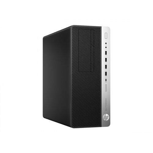 HP EliteDesk 800 G3 - Tower - 1 x Core i7 7700 / 3 6 GHz - RAM 4 GB - HDD  500 GB - DVD-Writer - HD Graphics 630 - GigE - Win 10 Pro 64-bit - vPro -
