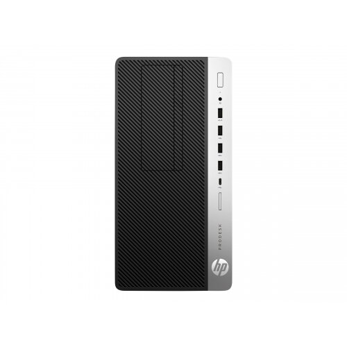 HP ProDesk 600 G3 - Micro Tower Desktop PC - 1 x Core i5 6500 / 3 2 GHz -  RAM 8 GB - SSD 256 GB - NVMe - DVD-Writer - HD Graphics 530 - GigE - Win 7