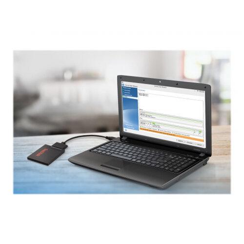 Sandisk SSD Notebook Upgrade Tool Kit - Storage controller - SATA - USB 3 0