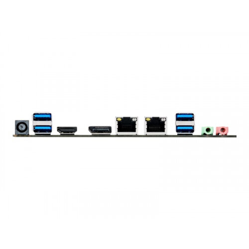 ASUS H110T - Motherboard - Thin mini ITX - LGA1151 Socket - H110 - USB 3 0  - 2 x Gigabit LAN - onboard graphics (CPU required) - HD Audio (8-channel)