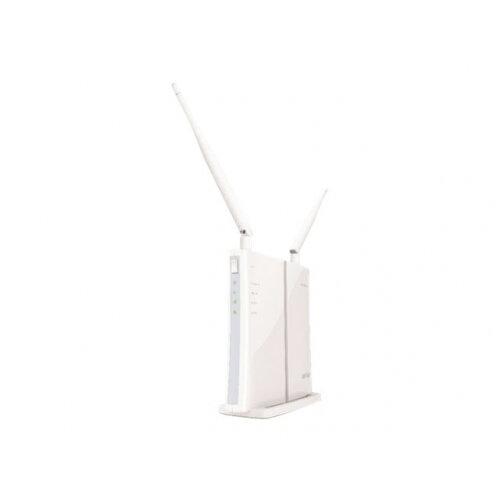 BUFFALO AirStation WBMR-300HPD - Wireless router - DSL modem - 3-port  switch - WAN ports: 2 - 802 11b/g/n - 2 4 GHz