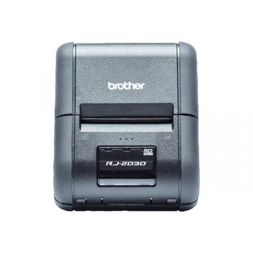 Brother RuggedJet RJ-2030 - Receipt printer - thermal paper - Roll (5 8 cm)  - 203 dpi - up to 152 mm/sec - USB 2 0, Bluetooth 2 1 EDR