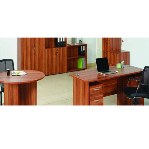 Stupendous Avior 1800Mm Right Hand Radial Executive Office Desk Cherry Home Interior And Landscaping Ologienasavecom