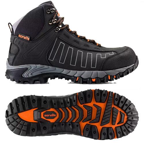 59099685146 Scruffs Cheviot Boots Black
