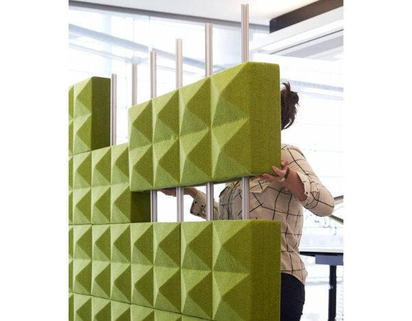 Fabricks Acoustic Wall Modules - Huntoffice ie