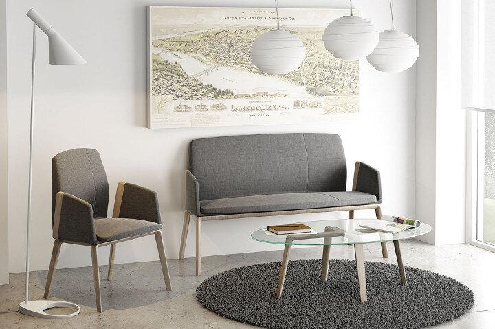 Famo Modern Design Office Furniture Showroom In London