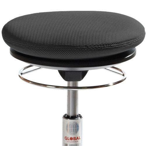 Pilates Air Seat Ergonomic Stool With Easy Clean Black 3D Runner Seat Upholst