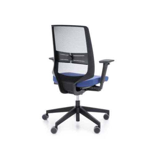 LightUp Modern Design Mesh Office Chair With Lumbar Support Adjustable