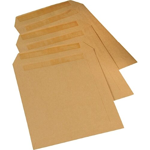 C4 A4  Envelope Manilla Brown Window 90gsm Self Seal 250 per Box 1 2 3 4 5 Boxes