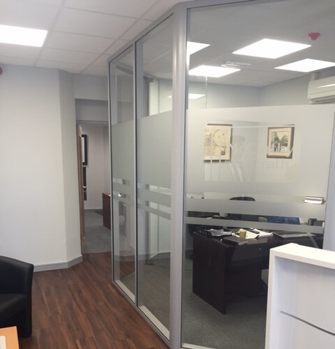 McCarthy McGrath Cork Office Fitout including partitions