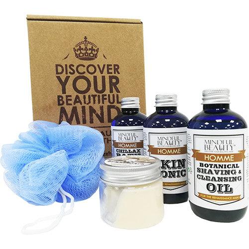 mindful beauty men gift box