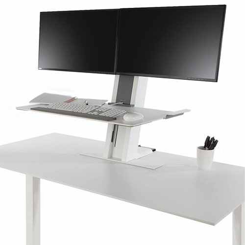 Humanscale Quickstand Height Adjustable Dual Monitor Sit