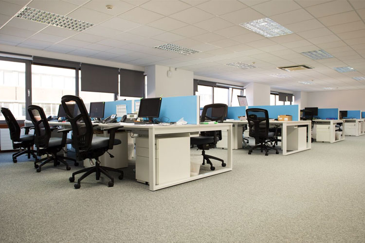 dublin office. Sidetrade Glass Partition Soft Seating Office Dublin