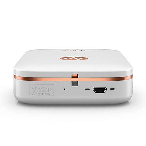HP Sprocket Photo Colour Printer Bluetooth White X7N07A HuntOffice.ie