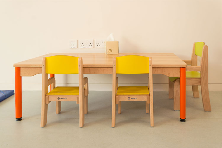West Limerick Children's Services Facilities Fit-Out Kids Table