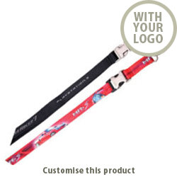 Dye Sublimated Printed Lanyard 002108077 - Customise with your brand, logo or promo text