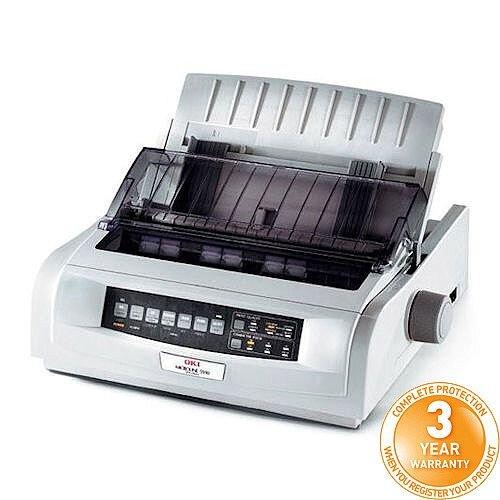 OKI MicroLine ML5721eco 9-Pin Dot Matrix Printer