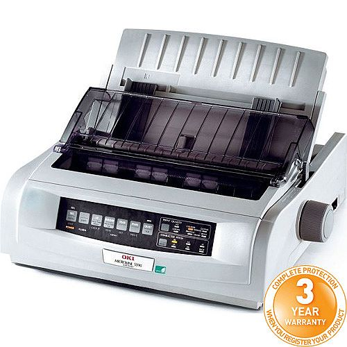 OKI MicroLine ML5590eco 24-Pin Dot Matrix Printer
