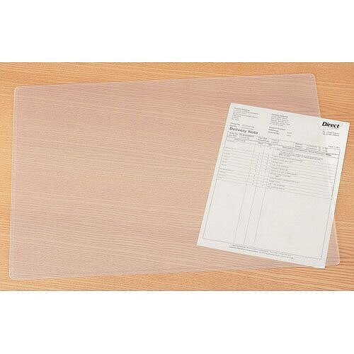 Durable Transparent Desk Mat W650 x D500mm