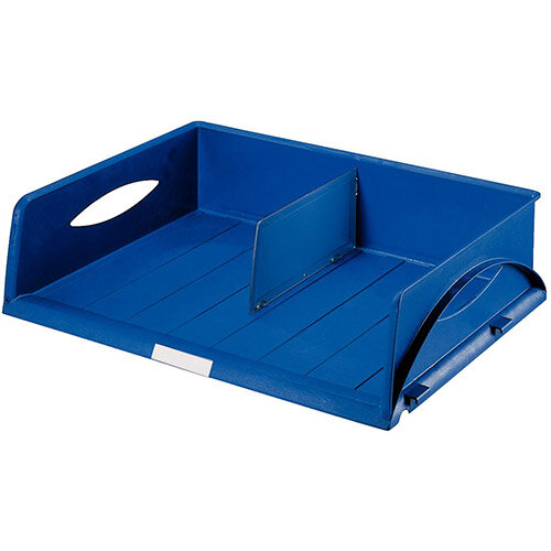 Leitz Sorty Jumbo Letter Tray W470mm Landscape A3 Blue