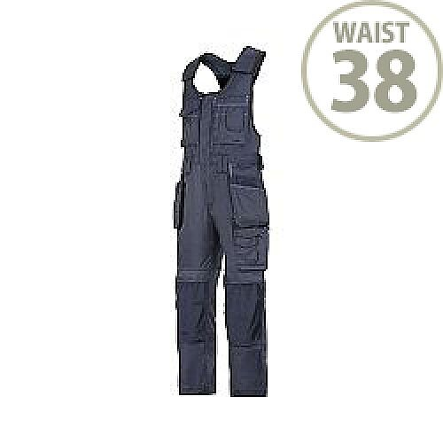 "Snickers 0212 Craftsmen One-piece Holster Pocket Trousers DuraTwill Size 104 38""/5'4"" Navy"