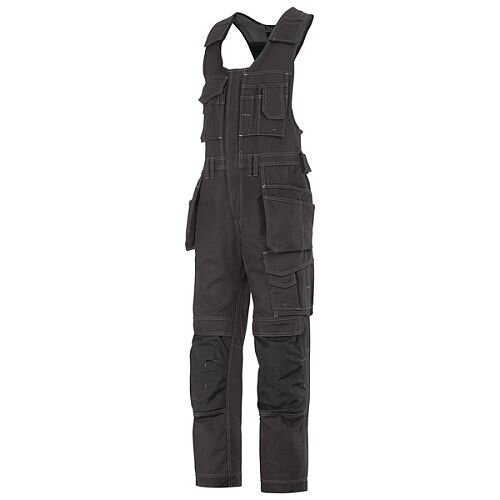Snickers 0214 Craftsmen One-piece Holster Pocket Trousers Canvas+ Black