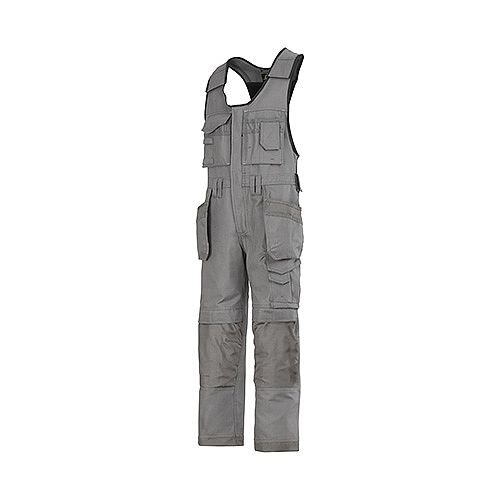 "Snickers 0214 Craftsmen One-piece Holster Pocket Trousers Canvas+ Size 64 50""/5'8"" Grey"
